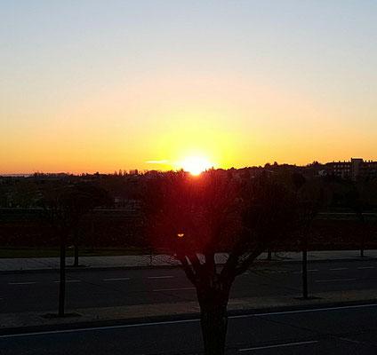 - Sonnenaufgang Salamanca