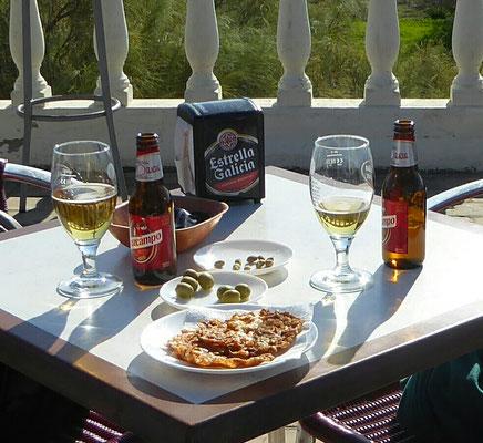 - Tortillas Camarón | Omlett mit kleinen Garnelen