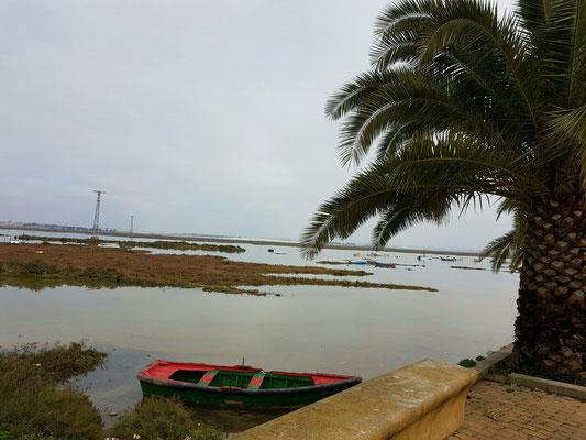 - hinter LIDL | Flut im Rio Carreras