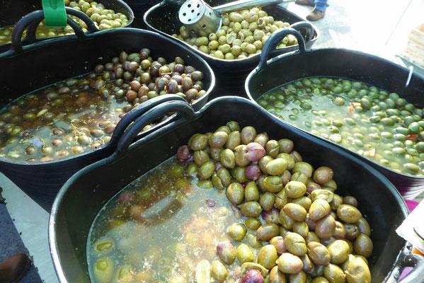 - die Oliven sind einfach Klasse