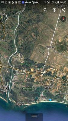 Campingplatz | Isla Cristina | Ayamonte | Grenz zu P