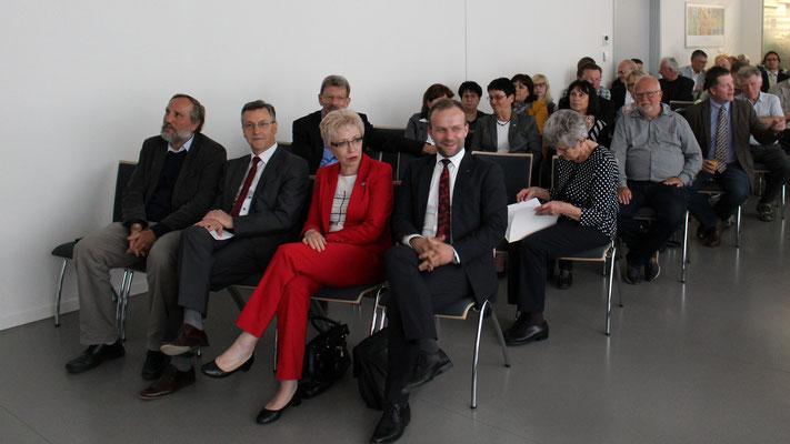 Zu Gast unter anderem Silvio Witt, Oberbürgermeister von Neubrandenburg