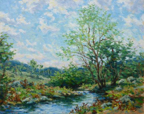 Ein frischer Wind | Öl auf Panel | 40 x 50 cm | Verkauft