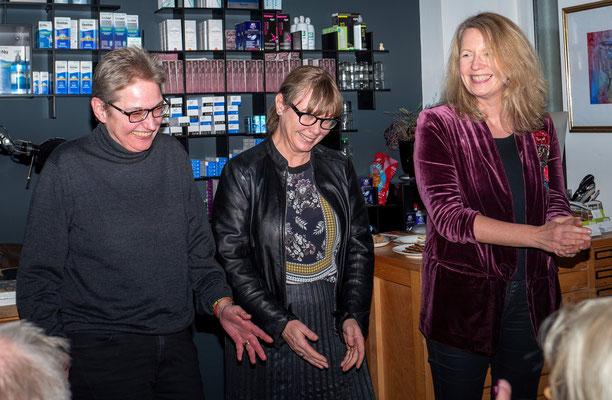 Brigitte Lamberts, Kerstin Lange und Britta Meyer