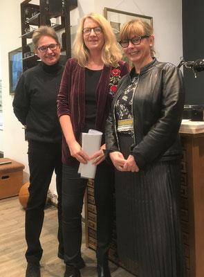 Brigitte Lamberts, Britta Meyer und Kerstin Lange