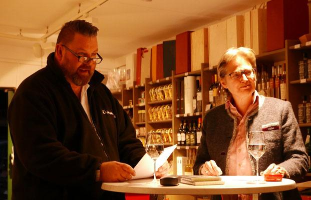 Brigitte Lamberts und Andreas Kaminski (Kriminalinski)