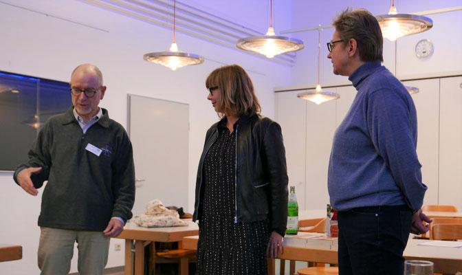 Wolfgang Möhring, Kerstin Lange und Brigitte Lamberts