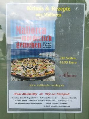 Mallorca mörderisch genießen zu Gast in Velbert-Tönisheide