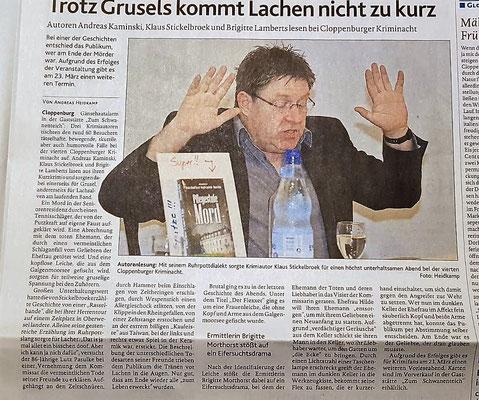 (C) Müsterländische Tageszeitung, 19.02.2019,  Autor des Artikels Andreas Heitkamp