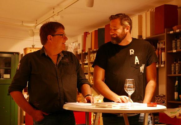 Klaus Stickelbroeck und Carsten Rößler (Krimi-Cops)