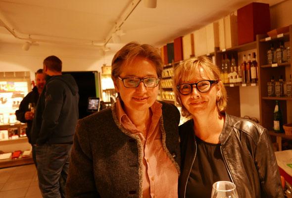 Brigitte Lamberts und Kerstin Lange