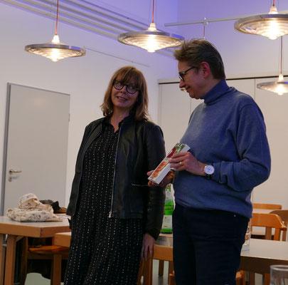 Kerstin Lange und Brigitte Lamberts