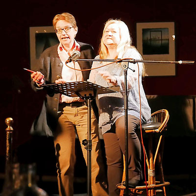 Brigitte Lamberts und Ursula Schmid-Spreer