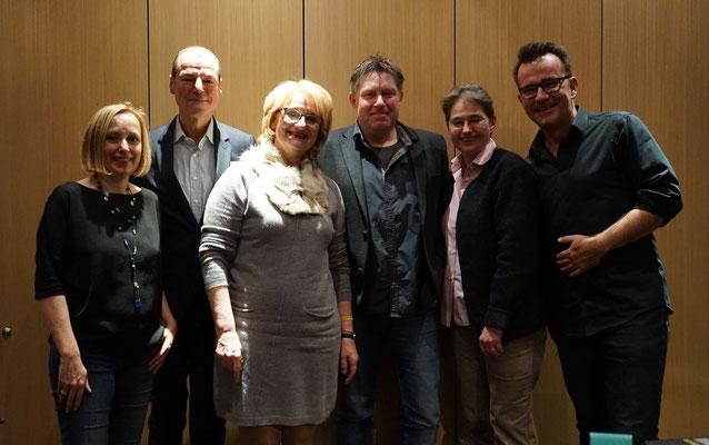 Ella Dählken, Horst Eckert, Sibyl Quinke, Klaus Stickelbroek, Brigitte Lamberts, René le Riche