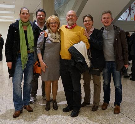 edition oberkassel AutorInnen mit Verleger Detlef Knut