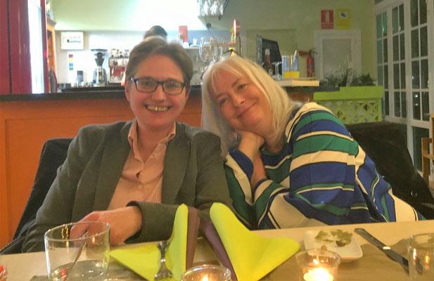 Brigitte Lamberts und Anette Schwohl