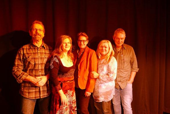 Arnold Küsters, Anja Puhane, Brigitte Lamberts, Ursula Schmid-Spreer, Jürgen Schmidt