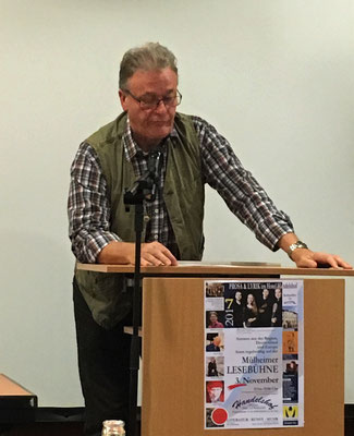 Moderator Peter Roßkothen