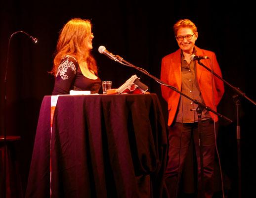 Anja Puhane und Brigitte Lamberts