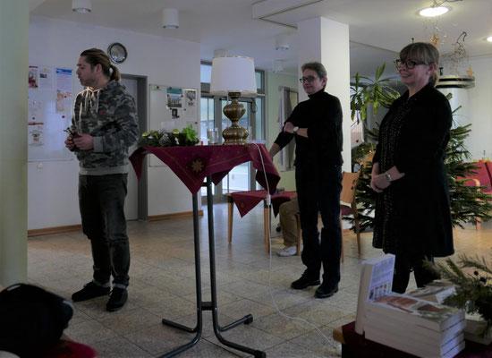 Udo Glasmacher (zentrum plus), Brigitte Lamberts, Kerstin Lange
