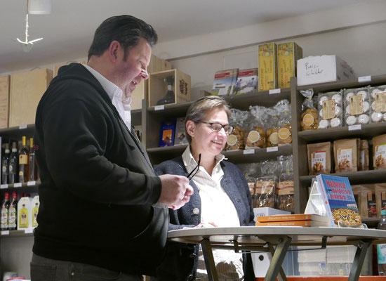 Andreas Kriminalinski und Brigitte Lamberts
