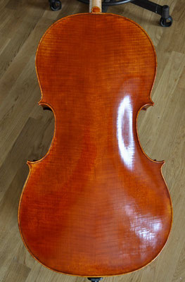 one piece cello back made from poplar - violworks