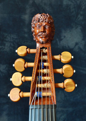 Bachus head after the originals head - violworks