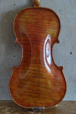 Strad violin, one piece flamed back - violworks