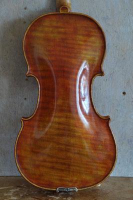 Strad violin, one piece flamed back - violworks