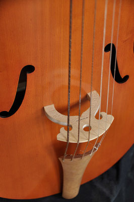 Renaissance viol, bridge - violworks