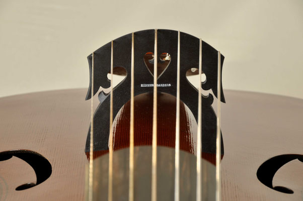 bridge 7 string bass viol - violworks