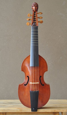 big treble viol, 40 cm string length - violworks