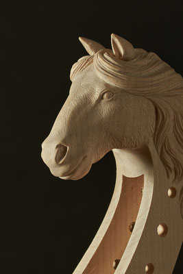 shire horse - violworks