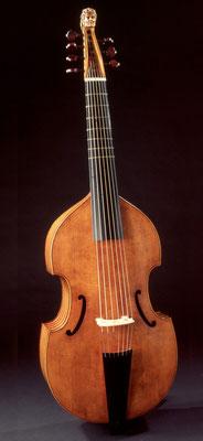 big Colichon 7-string bass viol - violworks