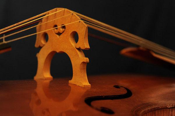 Violone bridge - violworks