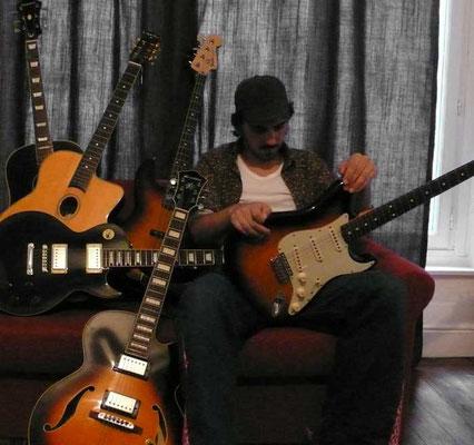 Francois Saint-Léger guitares