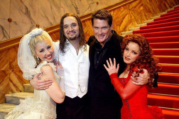 """""""Lisa"""" Jekyll&Hyde"""" Cologne, with David Hasselhoff & Drew Sarich """""""