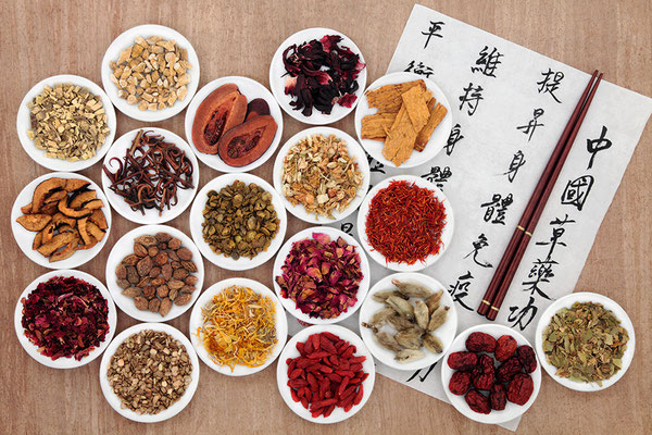 Productos de Fitoterapia Tradicional China.