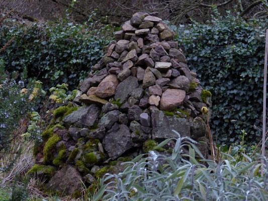 Neues Projekt: Steinhaufen