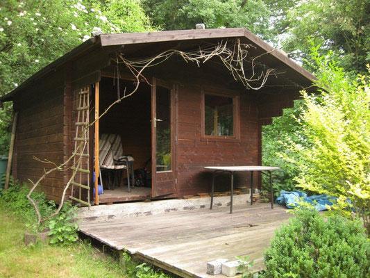 Die Hütte sieht halt etwas unbewohnt aus ...