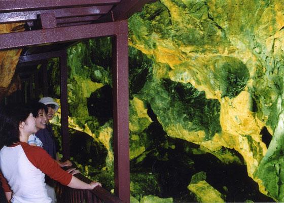 日本3大銀山の一つ延沢銀山坑道跡地見学場所