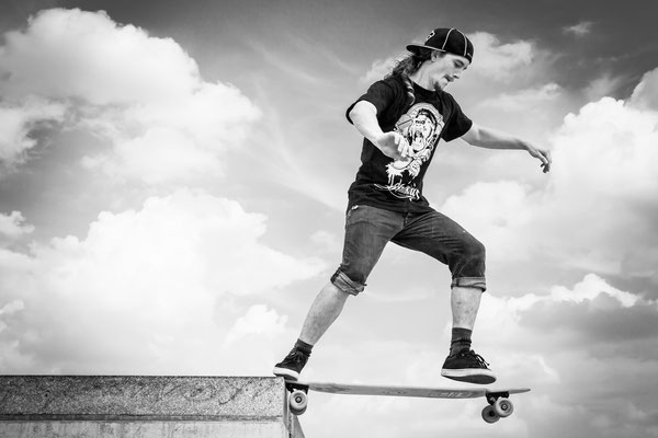 Longboarder Floyd - http://shop.jes-products.de