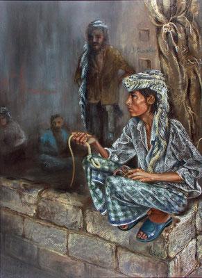 Meditation mit Schlangen - Jemen
