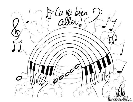 Piano en ciel