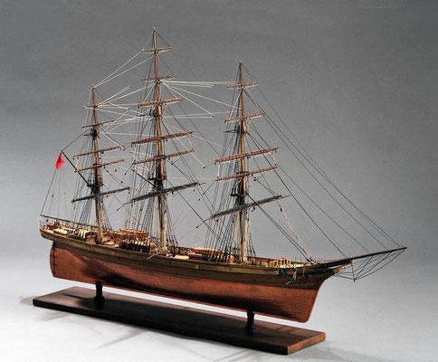 30-4 カティサーク CUTTYSARK  1869 イギリス 1/100 スクラッチビルト  前川 政司