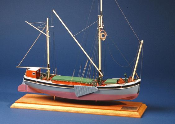 32 ウィル・エヴァーラード WILL EVERRARD  年代:    1925   船籍: イギリス  縮尺:    1/54    スクラッチビルト  製作者:  松本善文  製作期間:6ヶ月