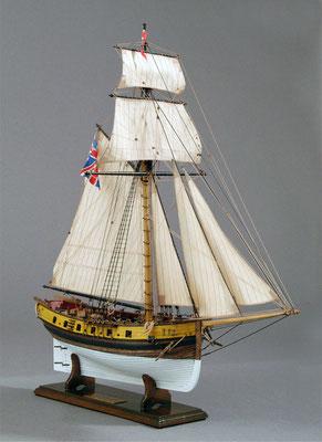 31-55 ハンター HUNTER 1797年 イギリス  1/72  マモリ社 満原俊博