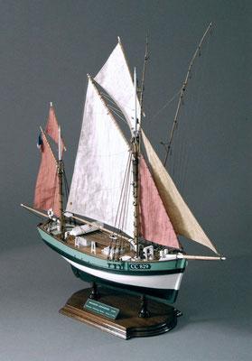 31-19 マリー・ジャンヌ MARIE JEANNE  1908年 フランス  1/50   ビリングボート社 岩波 昇  Noboru Iwanami