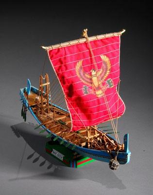 34-1 ファラオの船 Pharaoh's Ship  BC2700  エジプト 1/50 キット 篠崎 精一 Seiichi Shinozaki