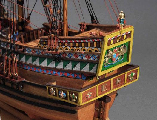 32-48 ゴールデン・ハインド  GOLDEN HIND  年代:    1577年  製作者:   霞 崇  製作期間:8ヶ月